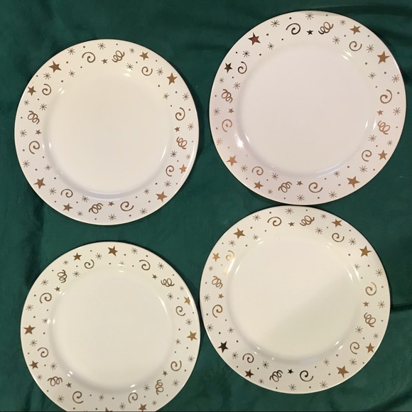 "Pampered Chef Other - Pampered Chef 8"" dessert plates"